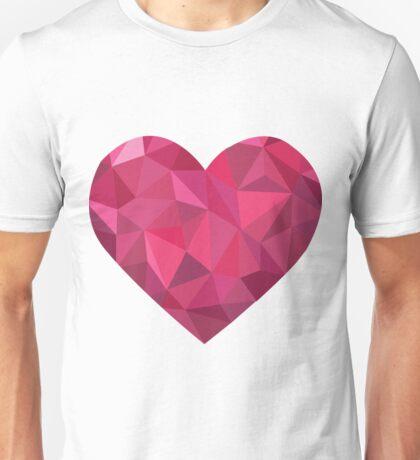 Pink heart 2 Unisex T-Shirt