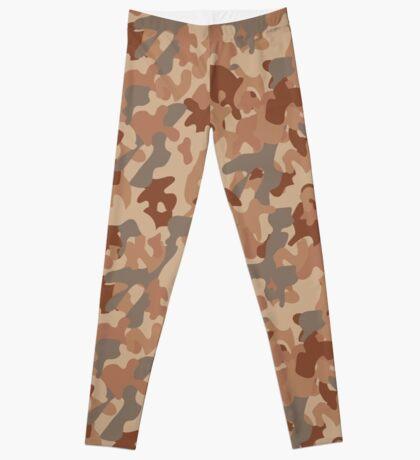 Military desert camouflage design always fashion Leggings