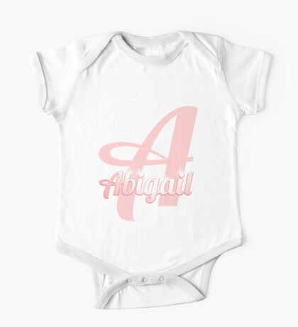 Baby Abigail is a Superstar One Piece - Short Sleeve