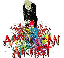 American artist logo by American Artist