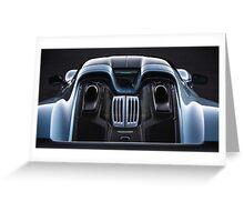 Liquid Metal - Porsche 918 Spyder - 16x9 Greeting Card