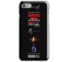 Resident Evil Timeline iPhone Case/Skin