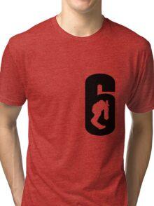 Rainbow Six Siege Chicken Leg Blitz Big 6 Tri-blend T-Shirt