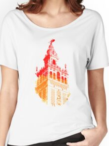 Seville the Giralda - Clothing Women's Relaxed Fit T-Shirt