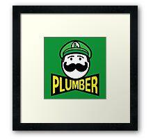 Plumber 2 Framed Print