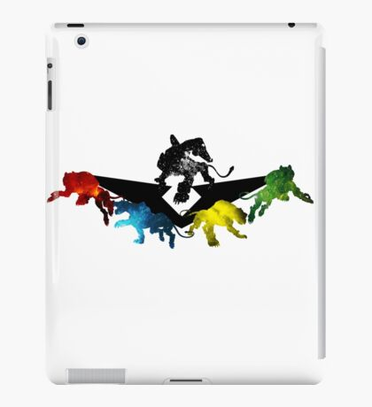 Voltron Legendary Defender - Galaxy lions iPad Case/Skin