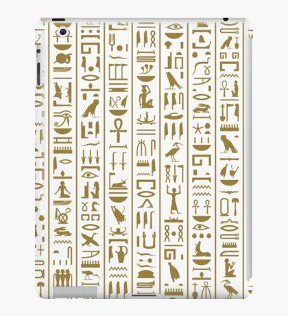 Ancient Egyptian Hieroglyphs iPad Case/Skin