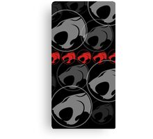 The Iconic Thundercats (black) Canvas Print