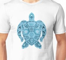 Royal Sea Turtle - blue Unisex T-Shirt