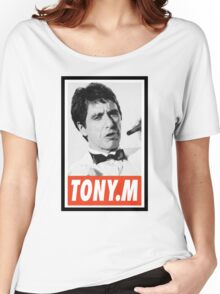 -MOVIES- Tony Montana Scarface Women's Relaxed Fit T-Shirt