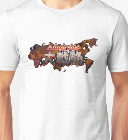 Admirable Tactics T-shirt  Unisex T-Shirt