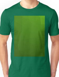 GREEN GEOMETRIC LOW POLY Unisex T-Shirt