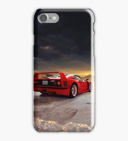 Ferrari F40 | ReVisit Series iPhone Case/Skin