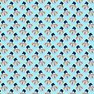 Mittens Snowman Pattern by SaradaBoru