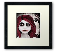 Dear little doll series... ROUBLE Framed Print