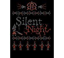 Silent Night ugly christmas Photographic Print