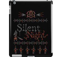 Silent Night ugly christmas iPad Case/Skin