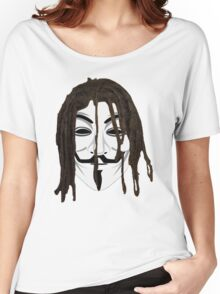 The Black Anonymous Women's Relaxed Fit T-Shirt