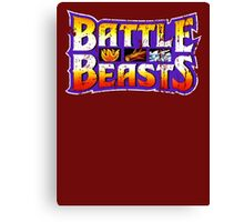 Battle Beasts Canvas Print