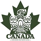 Canada Eagle Green by clemz