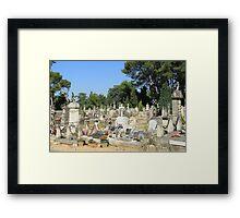 Cimetière de Provence by ProvenceProvence Framed Print