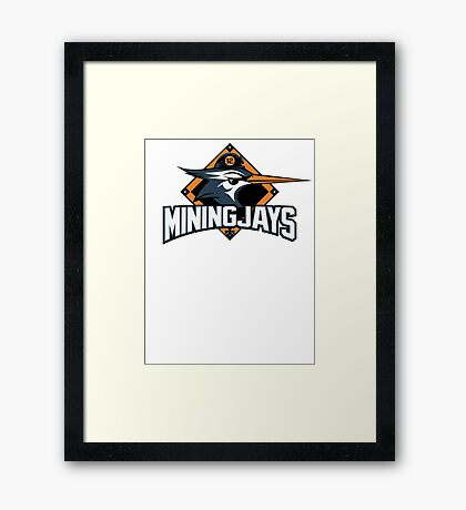 District 12 MiningJays Framed Print