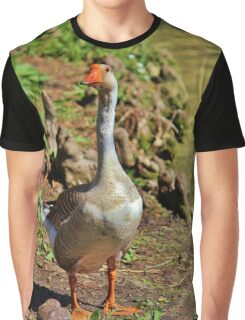 Graylag Goose Graphic T-Shirt
