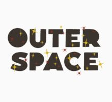 Wilde & Sweet - Outer Space Logo One Piece - Short Sleeve