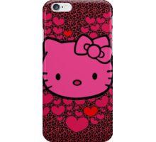 lovely hello kitty  iPhone Case/Skin