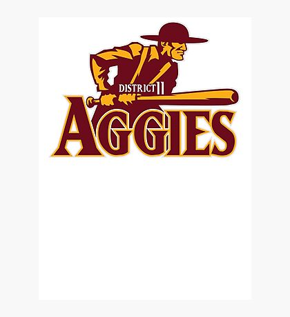 District 11 Aggies Photographic Print