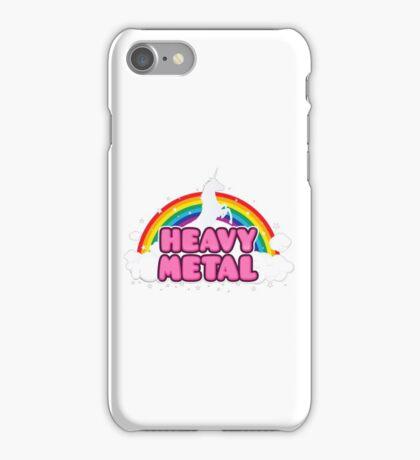 Heavy Metal Unicorn iPhone Case/Skin