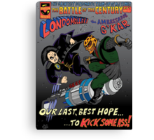 Battle of the 23rd Century! Canvas Print