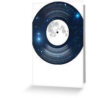 Vinyl space Greeting Card