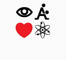 I Fking Love Science by Tai's Tees Unisex T-Shirt