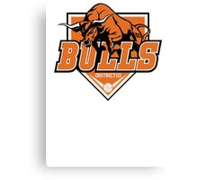 District 10 Bulls Canvas Print