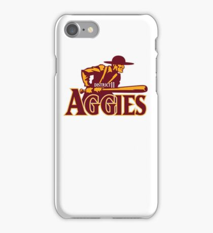 District 11 Aggies iPhone Case/Skin