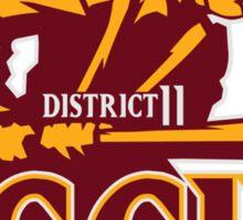 District 11 Aggies Sticker