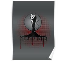 Beware the Mousferatu! Distressed Poster