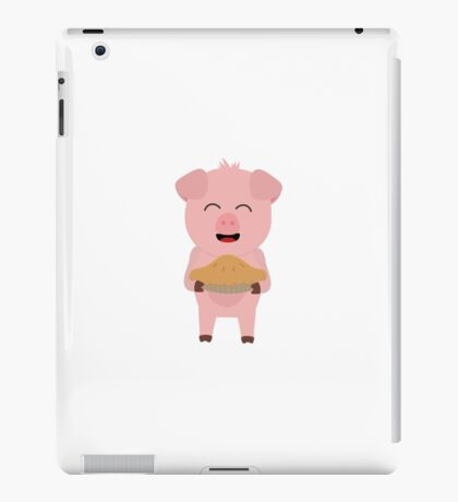 Pig with Cake iPad Case/Skin
