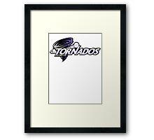 District 9 Tornados Framed Print