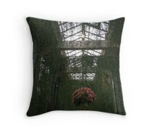 Green Passage Throw Pillow