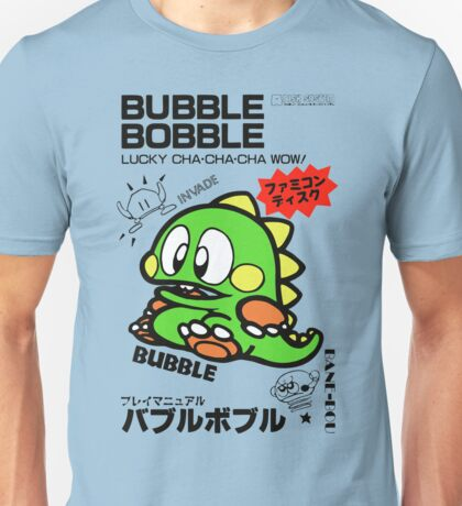 Bubble Bobble (Japanese Art) Unisex T-Shirt