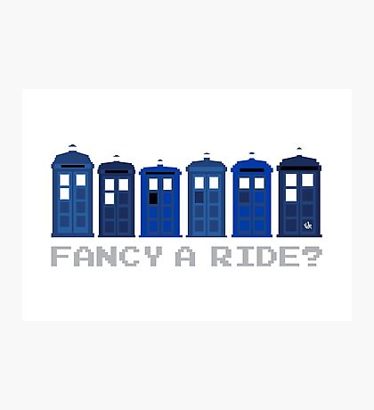 Fancy a ride? Photographic Print