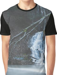 Emerging waterfall after the flood Graphic T-Shirt