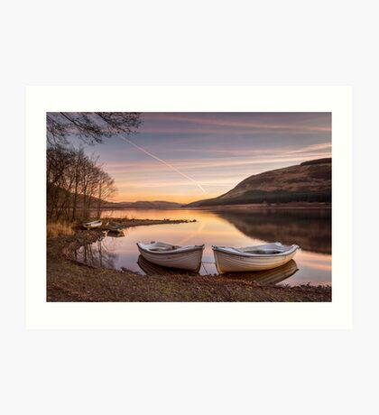 Loch Serenity Art Print