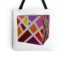 A Cube of Piet's Abstract Tote Bag