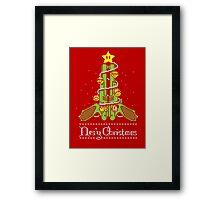Nes'y Christmas - ugly christmas jumper Framed Print