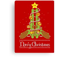 Nes'y Christmas - ugly christmas jumper Canvas Print