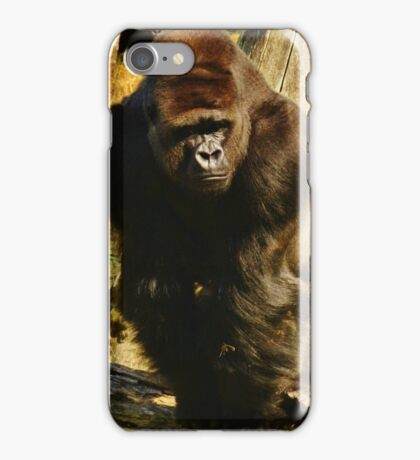 Posing Primate iPhone Case/Skin