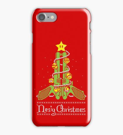 Nes'y Christmas - ugly christmas jumper iPhone Case/Skin